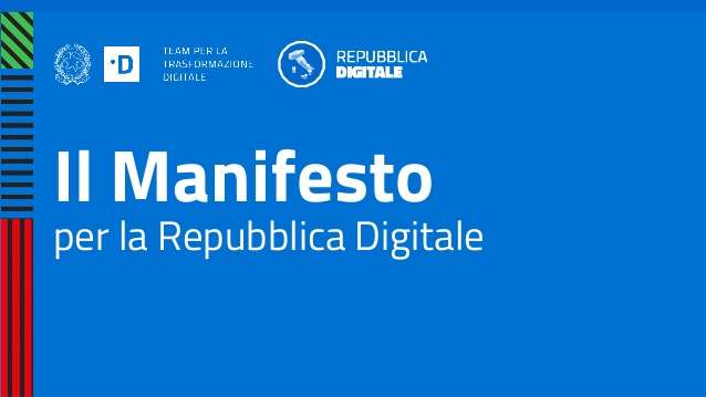 manifesto repubblica digitale